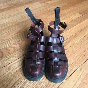 Dr. Martens Geraldo in Brown Charro Leather UK 4